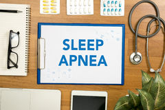 SLEEP APNEA Stock Photos