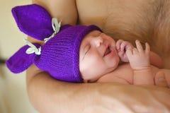 Sleep of baby Stock Image