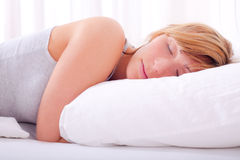 Sleep bed Royalty Free Stock Photography