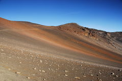 Sleep bij Nationaal Park Haleakala Royalty-vrije Stock Foto's