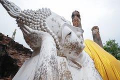 Sleep buddha statue in Ayutthaya, Thailand. Stock Image