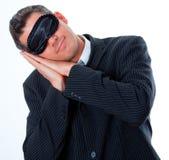 Sleep business Stock Image