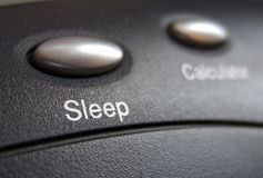 Sleep button Stock Photos