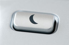 Sleep button Royalty Free Stock Image