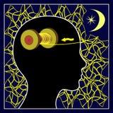 Sleep clears the Mind Stock Image
