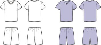 Sleep clothes Stock Image