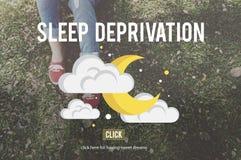 Sleep Deprivation Insomnia Problem Narcolepsy Concept Stock Images