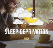 Sleep Deprivation Insomnia Problem Narcolepsy Concept Royalty Free Stock Images