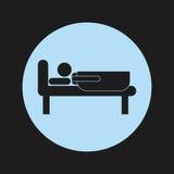 Sleep design Royalty Free Stock Image