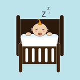 Sleep design Stock Images