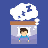 Sleep design. Stock Images
