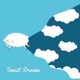 Sleep design. Royalty Free Stock Images