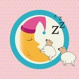 Sleep design Royalty Free Stock Photography