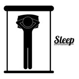 Sleep design Royalty Free Stock Images