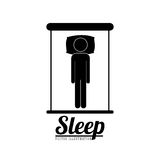 Sleep design Royalty Free Stock Photo