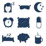 Sleep design. Royalty Free Stock Image