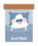 Sleep design. Stock Photos
