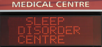 Sleep Disorder Centre Royalty Free Stock Photography