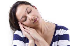 Sleep Gesture Stock Images