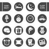 Sleep icon. Stock Photo