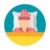 Sleep icon vector illustration Royalty Free Stock Image