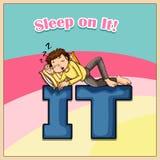 Sleep on it Royalty Free Stock Photo