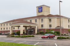 Sleep Inn and Suites Hotel Stock Photography