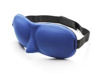 Sleep mask. A Blue sleep mask blindfold made of neoprene Royalty Free Stock Image