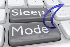 Sleep Mode Concept Stock Photo