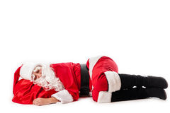 Sleep Santa Claus Stock Photos
