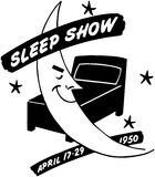 Sleep Show Royalty Free Stock Photography