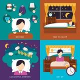 Sleep time collection Stock Photo