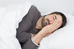 Sleep time - illness Stock Photography