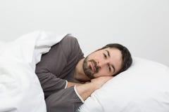 Sleep time - sleep well stock image