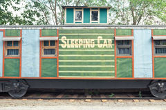 Sleep train wagon Stock Images