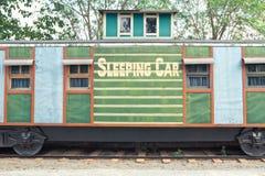 Sleep train wagon Stock Images