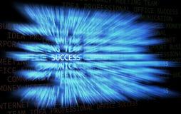 Sleep van succes vector illustratie