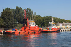 sleepboot Royalty-vrije Stock Foto