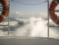 Sleepboot in Frankrijk stock afbeelding