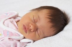 Sleeper baby Royalty Free Stock Photo