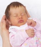 Sleeper baby Stock Image