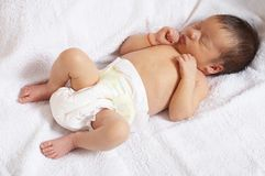 Sleeper baby Royalty Free Stock Images