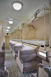 Sleeper coach interior Stock Image