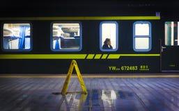 The night train stock photos