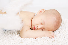 Sleepin angell Stock Image