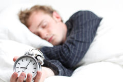 Sleeping Royalty Free Stock Image