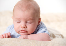 Sleeping Royalty Free Stock Photos