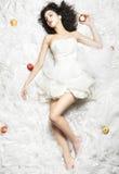 Sleeping Alluring Beauty royalty free stock image