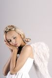 sleeping Angel Stock Photography
