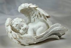 Sleeping angel Stock Images